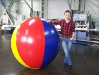 Надувнoй мяч D=1,5 м