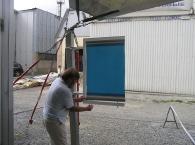 Новая система установки столбовых холдеров с помощью ПВХ-профилей